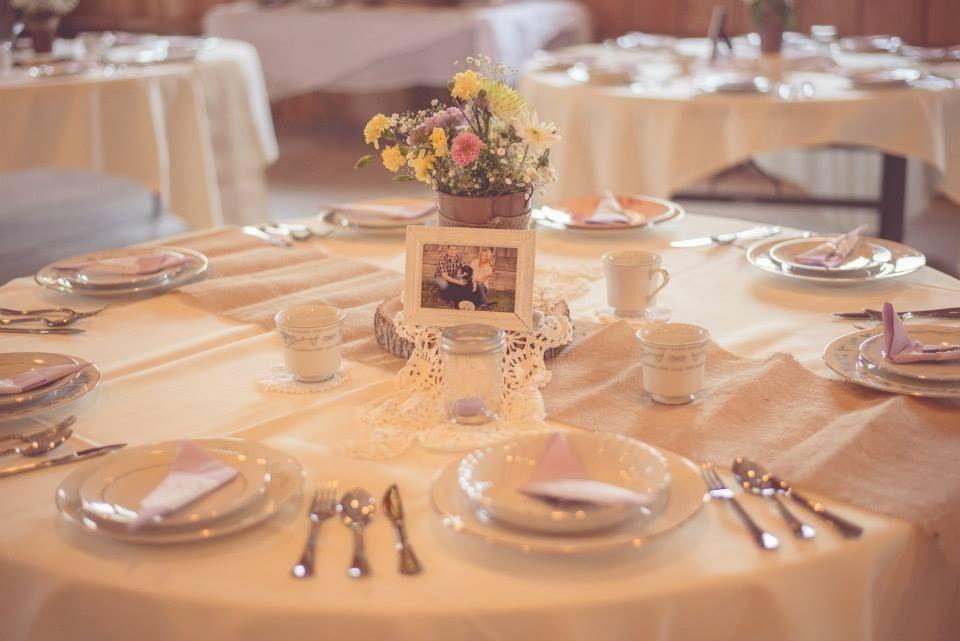 #wedding #vintage #decor #table #china