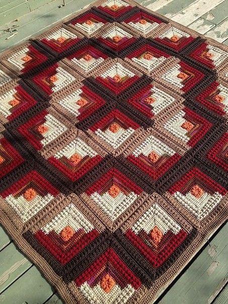 Blanket Amazing - tutorial free - Crochet Works | Tapete de crochê ...