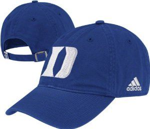 cheap for discount abd37 89c20 Duke Blue Devils adidas Royal Slouch Adjustable Hat by adidas.  14.99.  Embroidered graphics. Adjustable back closure. Woven team logo flag.