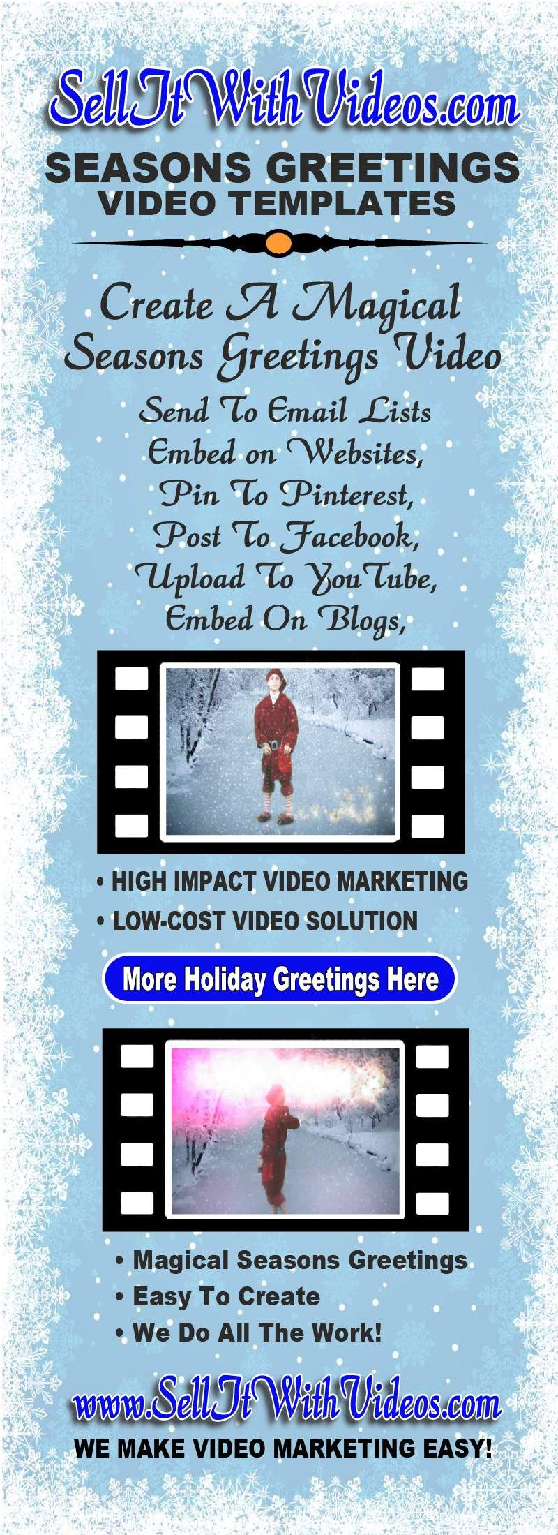 Create An Enchanting Merry Christmas Video Greeting With A Low Cost