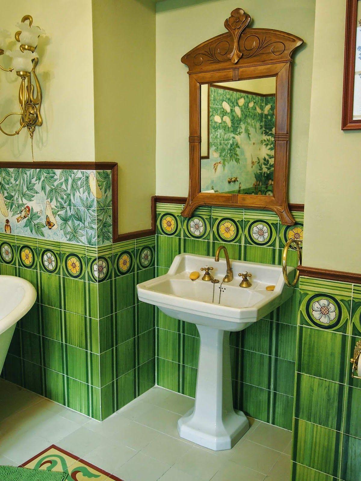 Paneles de Azulejos en baños | Decoraciones de casa ...