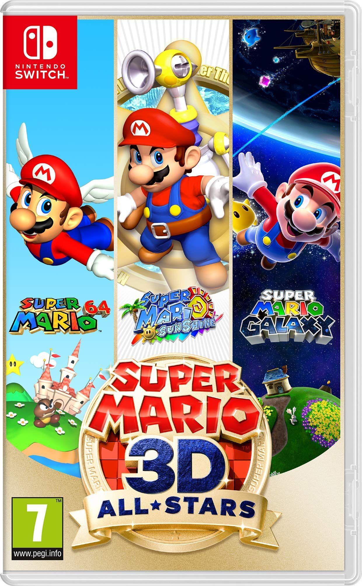 Super Mario 3d All Stars Amazon Fr Jeux Video En 2020 Jeu De Plateforme Super Mario Sunshine Super Mario Galaxy
