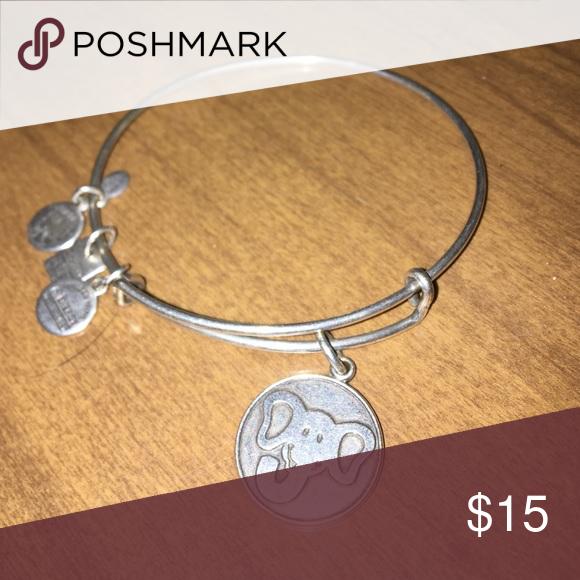Alex and Ani Bracelet Elephant charm 🐘 Alex & Ani Jewelry Bracelets