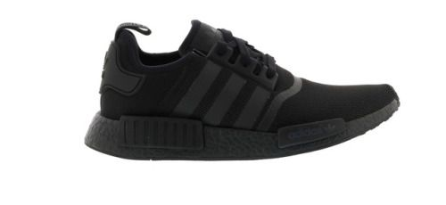 Details about New adidas Originals NMD R1 Mens sneaker casual shoes triple black all sizes