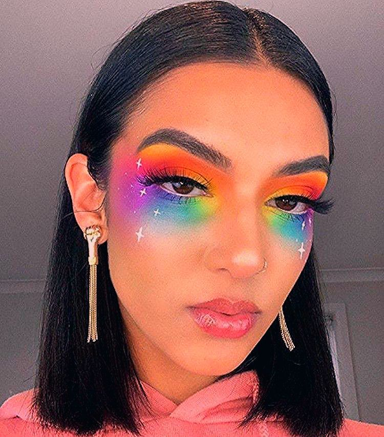 These Makeup Looks For Pride 2019 Will Color You Impressed — Elite Daily