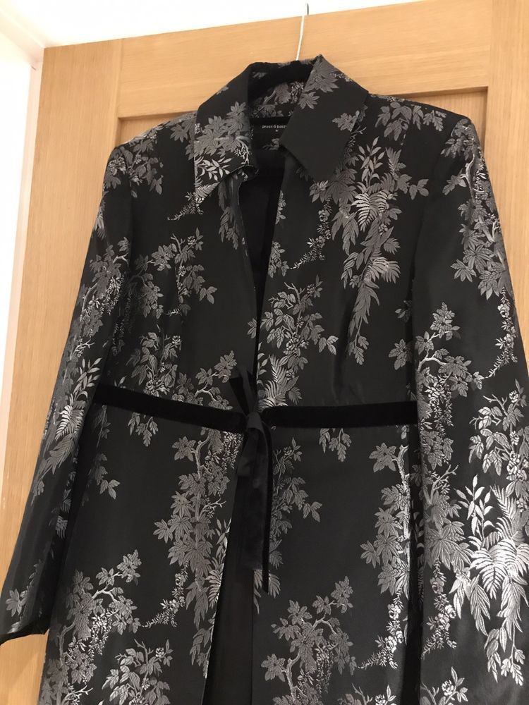 PRESS   BASTYAN (Karen Millen) EVENING COAT  fashion  clothing  shoes   e80129ae64