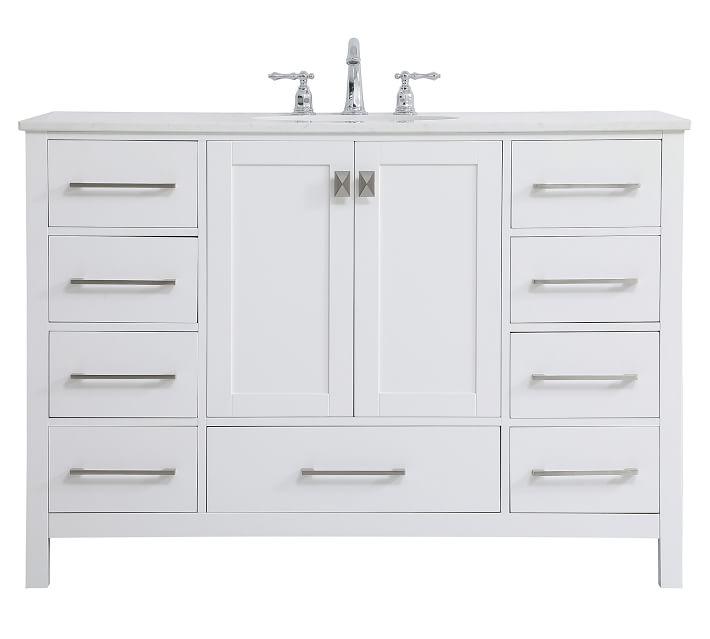 Riola 48 Single Sink Vanity In 2021, 48 Single Sink Bathroom Vanity