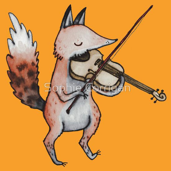 Violin Fox