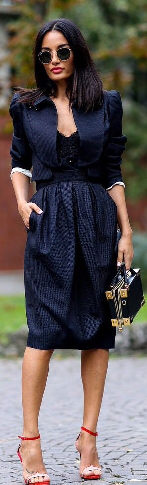 Black and chic