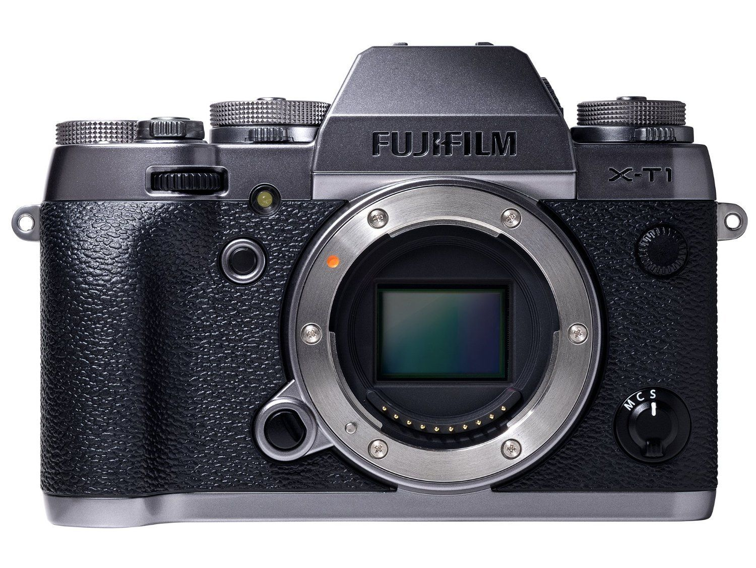 Fujifilm X-T1 Mirrorless Digital Camera (Graphite Silver Body Only ...