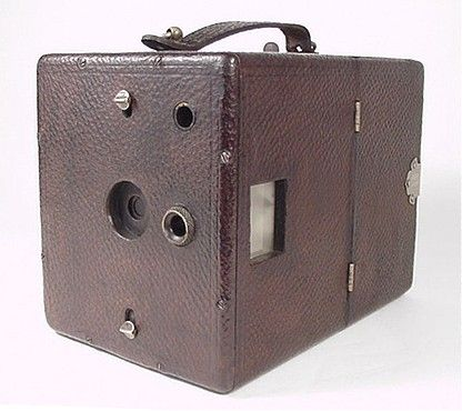 Adlake Camera • The Adlake is a large leather-covered wooden box camera manufactured by the Adams & Westlake Company of Chicago, Illinois USA, ca 1897