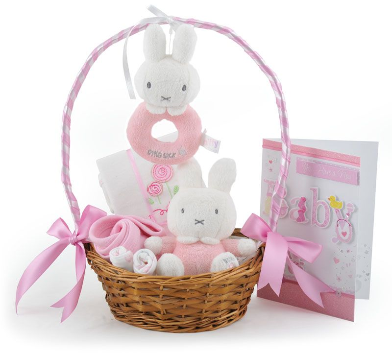 My miffy little star baby girl gift basket baby girl gift baskets my miffy little star baby girl gift basket at 3499 negle Choice Image