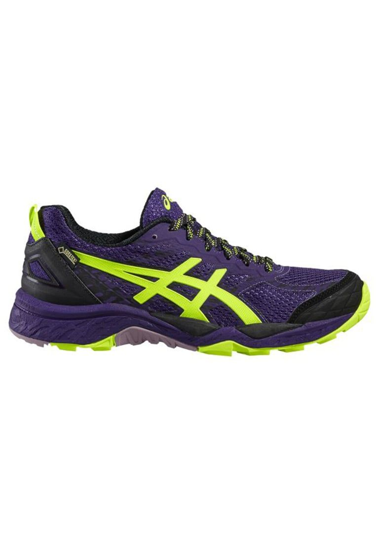 472aff5783d ASICS GELFUJITRABUCO 5 GTX Zapatillas trail parachute purple safety  yellow black. ASICS GELFUJITRABUCO 5 GTX Zapatillas trail parach…