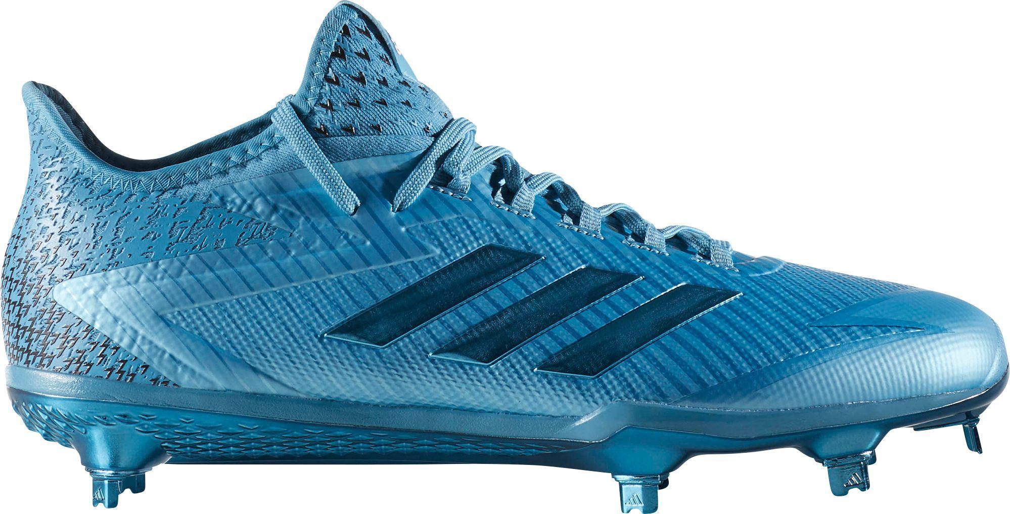 low priced 9672a fc26c adidas Mens adizero AfterBurner 4 Dip Baseball Cleats, Size 13.0, Blue