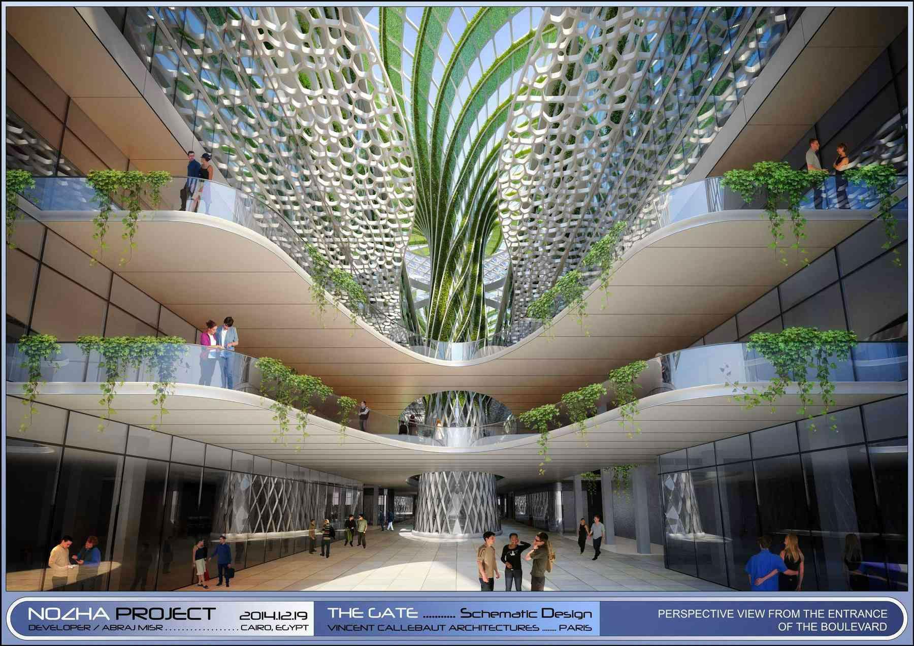 The Gate Heliopolis Vincent Callebaut Architectures Arch2o Com Ecofriendly Architecture Eco Architecture Green Architecture