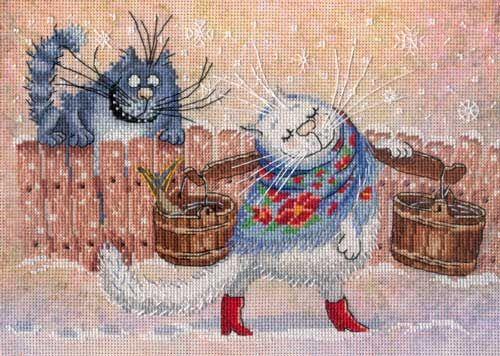 Набор для вышивания Ты, мой котенок! 38-10 Чудесная игла