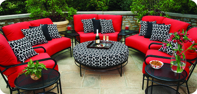 Venta Patio Cushions Red En Stock, Red Outdoor Furniture