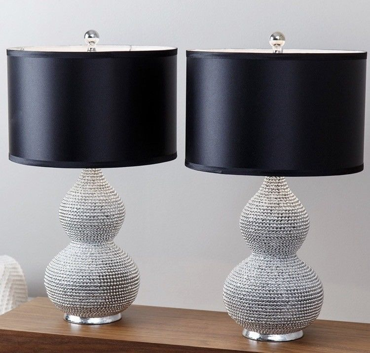 Table Lamps For Living Room Bedroom Set Side Round For Bedrooms Small Home Decor Table Lamp Sets Table Lamp Lamp Sets