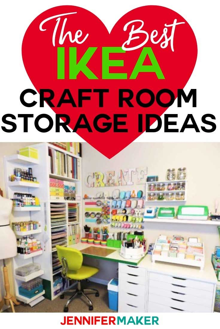 The Best IKEA Craft Room Storage Shelves & Ideas images