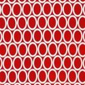 Ovals in Red