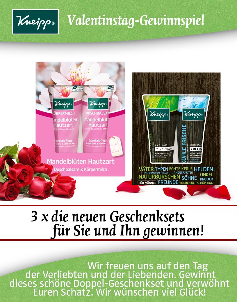 Filines Testblog: Valentinsgrüsse Von Und Mit Kneipp!