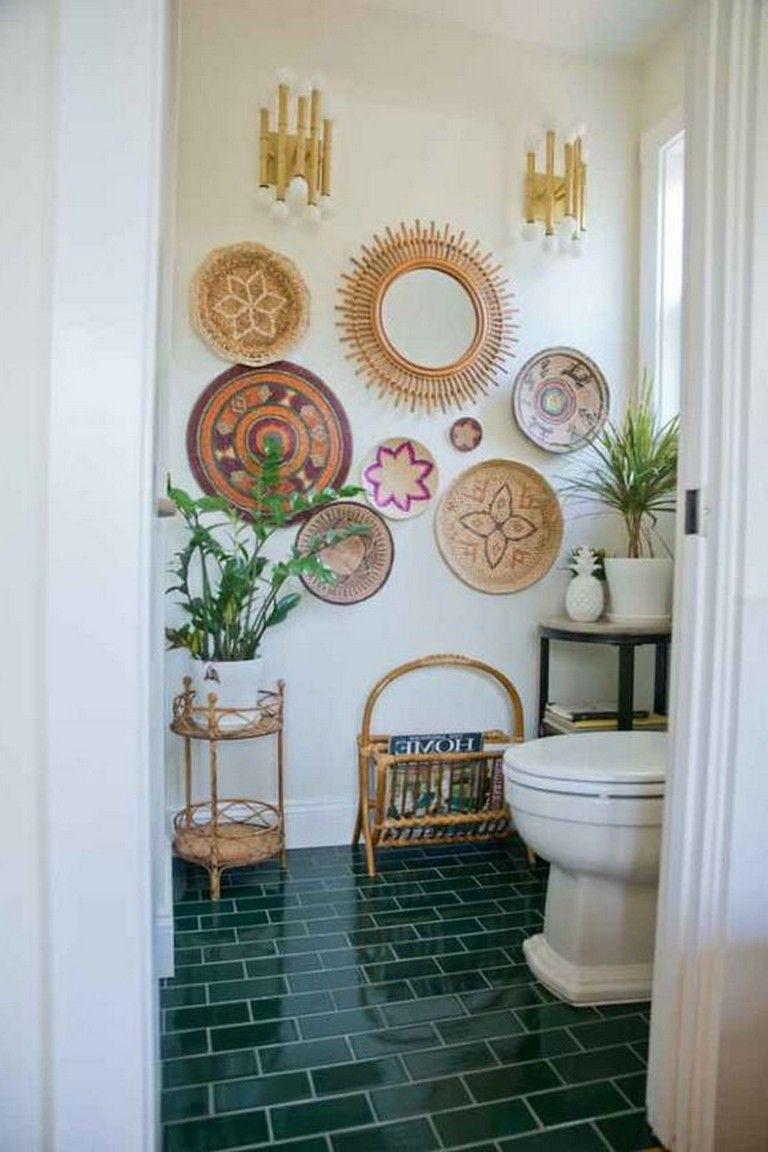 33 Amazing Bohemian Bathroom Designs Bohemian Bathroom Bathroomdesign Boho Chic Bathroom Decor Bohemian Style Bathroom Boho Apartment Decor