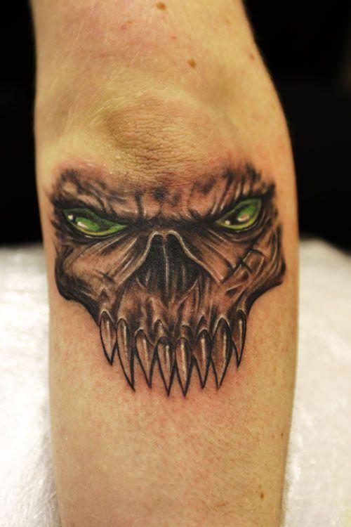 skull elbow tattoos green eyes skull elbow tattoo tatuuri pinterest elbow tattoos tattoo. Black Bedroom Furniture Sets. Home Design Ideas