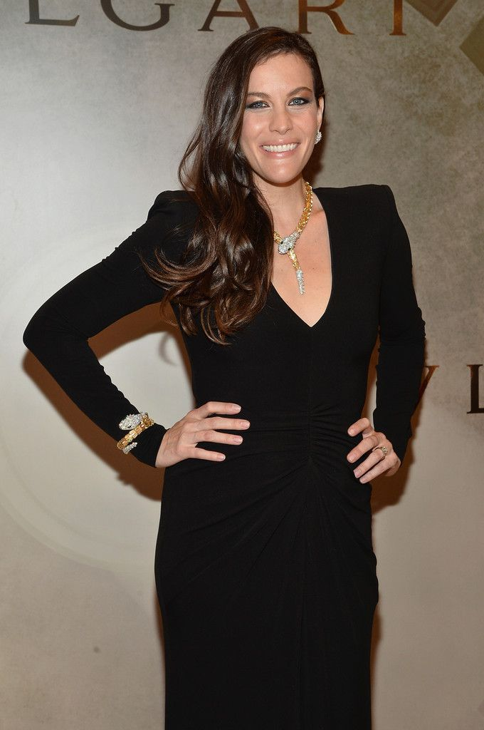 BVLGARI & ROME: Eternal Inspiration Opening Night - Cocktail Arrivals - Liv Tyler
