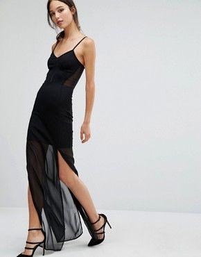Asos lange schwarze abendkleider