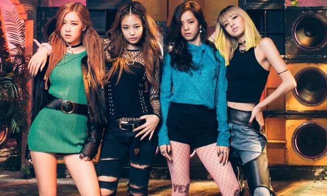 "BLACKPINK debuted in August this year with title tracks ""Boombayah"" and ""Whistle"""