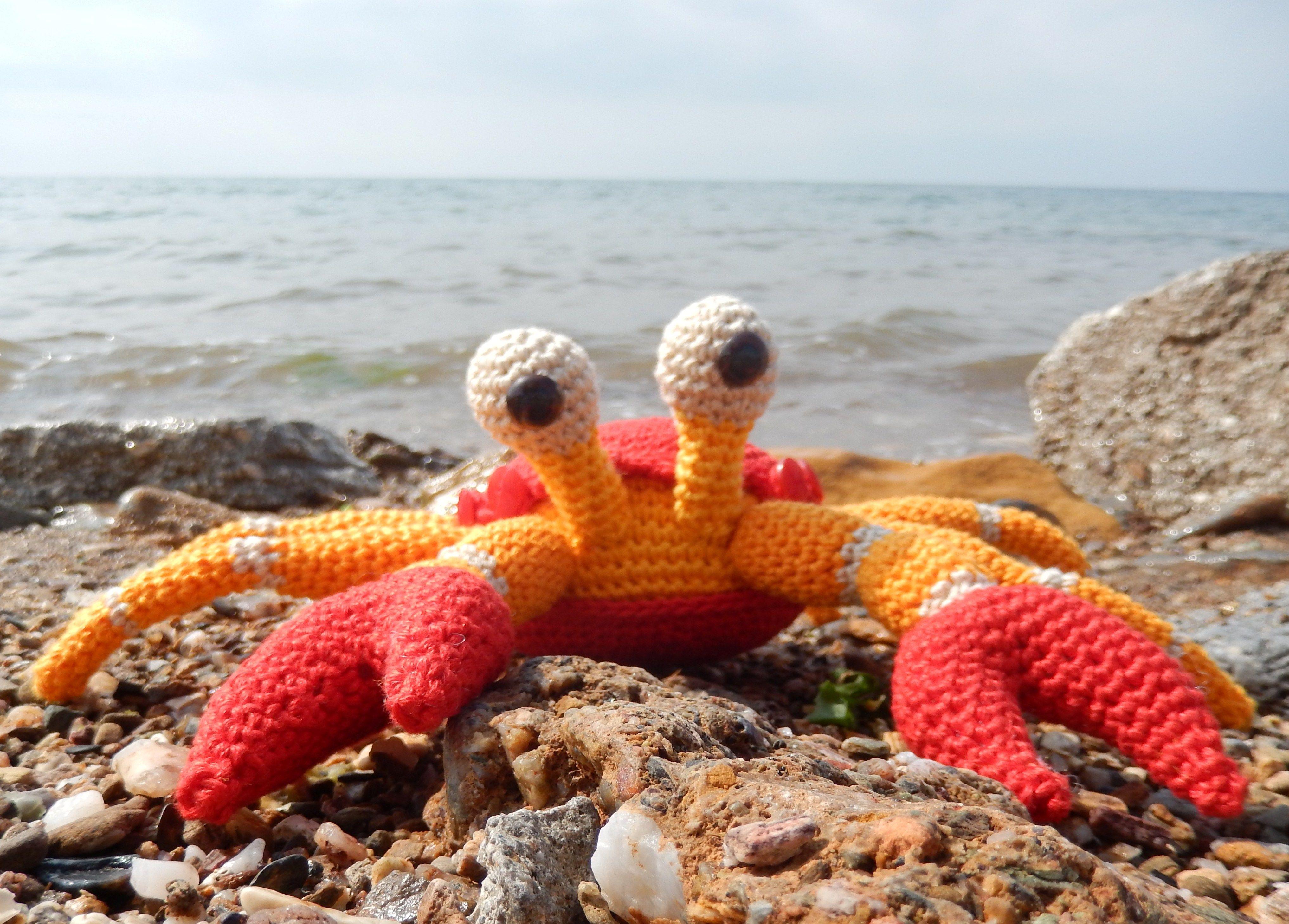 Amigurumi Patterns Free Crochet Pdf : Karoline the little crab coconut free english pattern pdf file