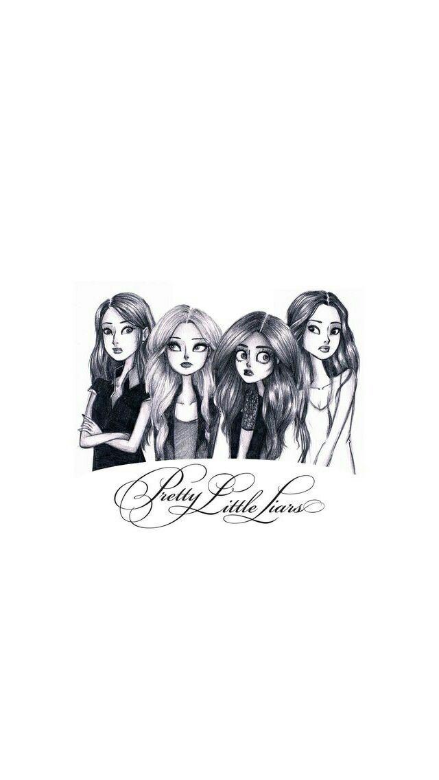 Pin By Mishaal Paracha On Drawings Pretty Litle Liars Pretty Little Liers Pretty Little Liars Quotes