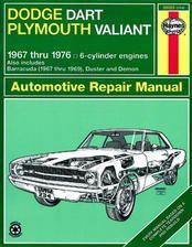 Plymouth Barracuda 1967 1969 Repair Manuals Plymouth Valiant Repair Manuals Dodge Dart