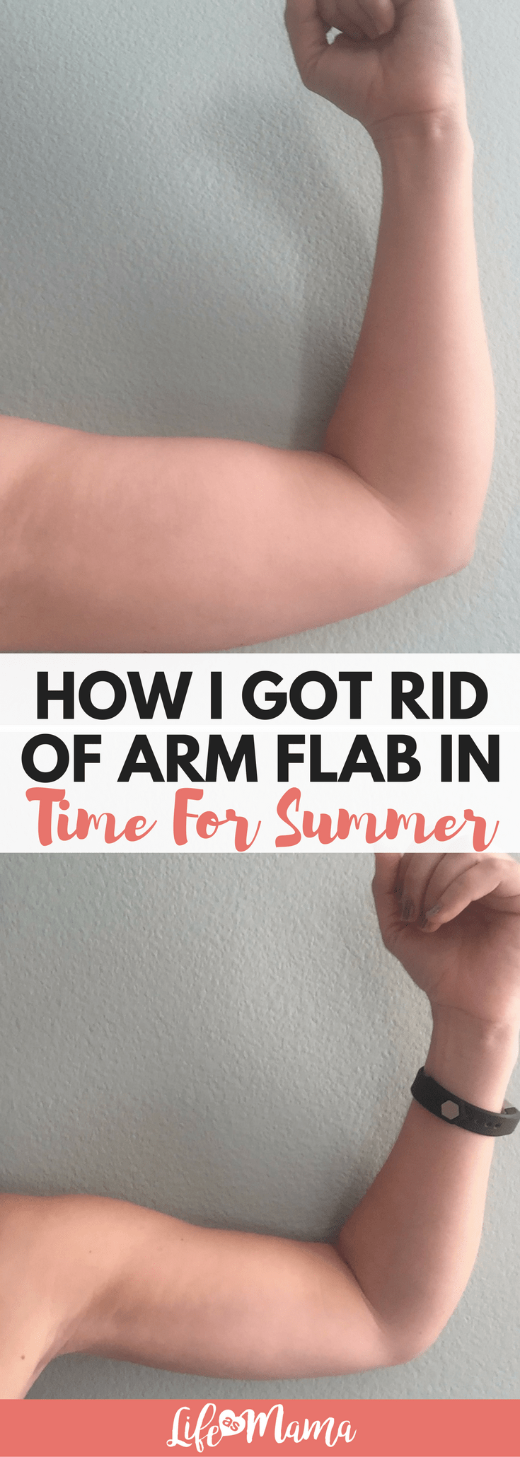 How i got rid of arm flab in time for summer goals pinterest