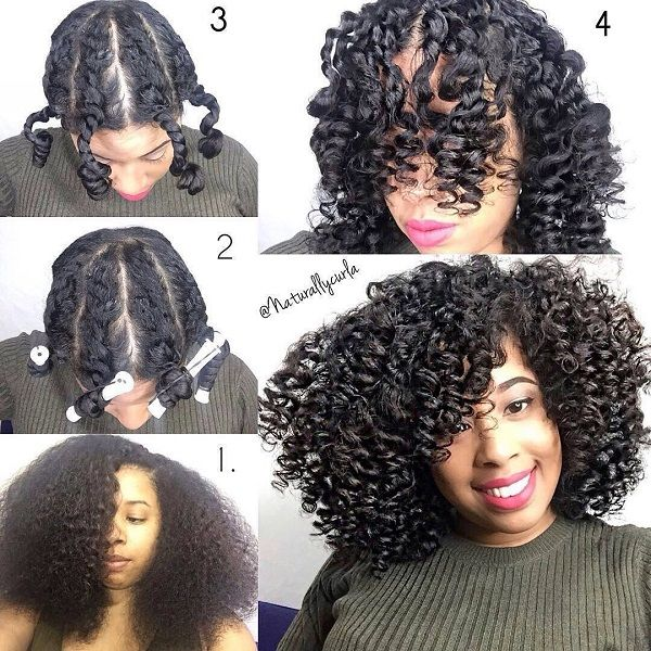 5 Gorgeous Natural Styles For Medium Length Hair With Images