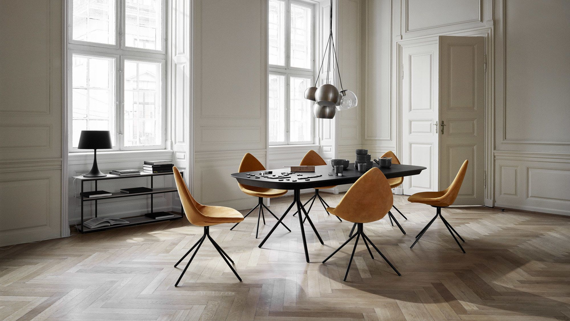 Ottawa Table With Supplementary Tabletop Modern Hallway