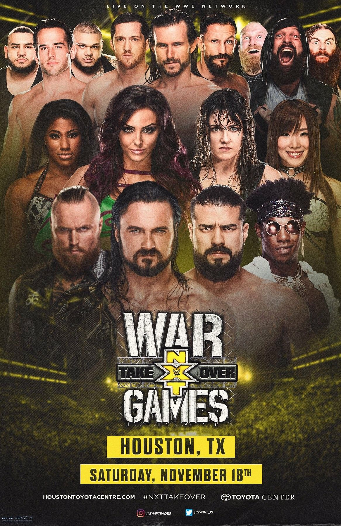 WWE NXT War Games PPV Nxt takeover, The game is over, Wwe
