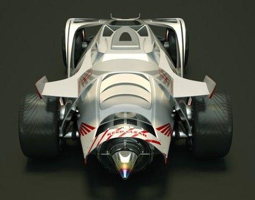 Honda Pegasus, Futuristic Vehicle, Racing Car, Andrus Ciprian