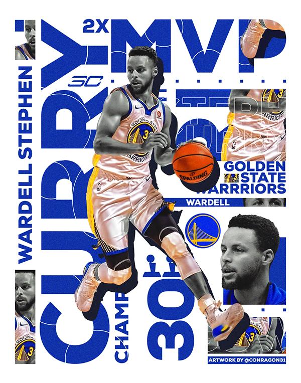 Nba Artwork Stephen Curry On Behance Nba Artwork Nba Wallpapers Stephen Curry Nba Stephen Curry