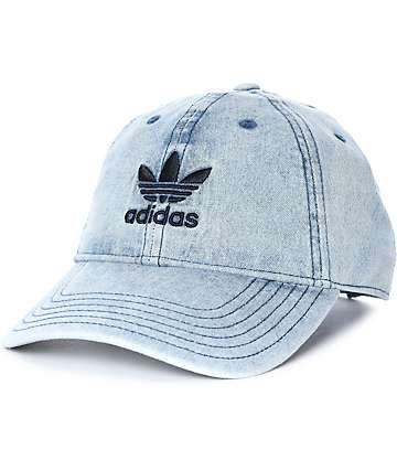 adidas Trefoil gorra béisbol de mezclilla  d25dcc316ff