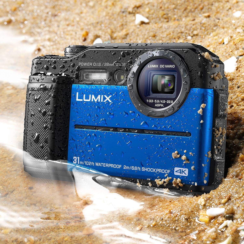 Panasonic Dc Ts7a Lumix Ts7 Waterproof Tough Camera In 2020 Hd