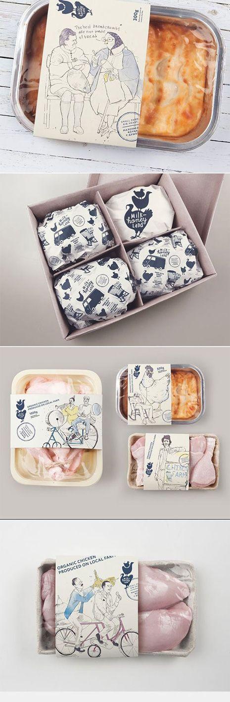 43 sabrosos ejemplos de packaging de comida que le harán salivar cual perro de Pavlov