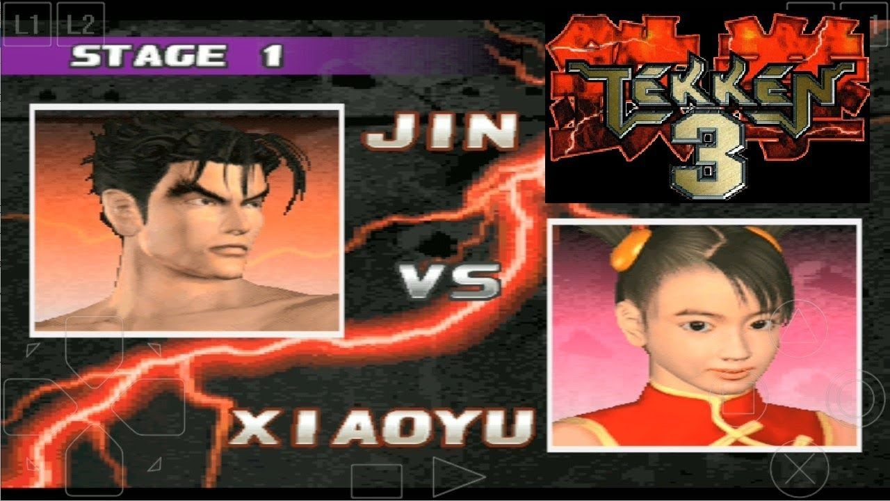 Tekken 3 Android Gameplay Jin Vs Xiaoyu Cell Phone Game Tekken 3 Iphone Games