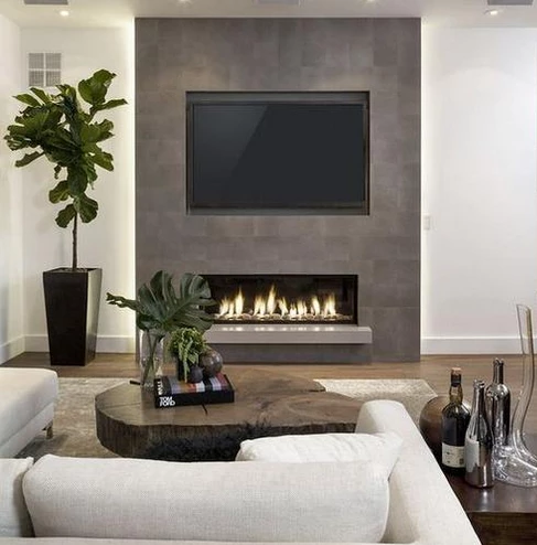 Touchstone 80004 Sideline Electric Fireplace 50 Recessed