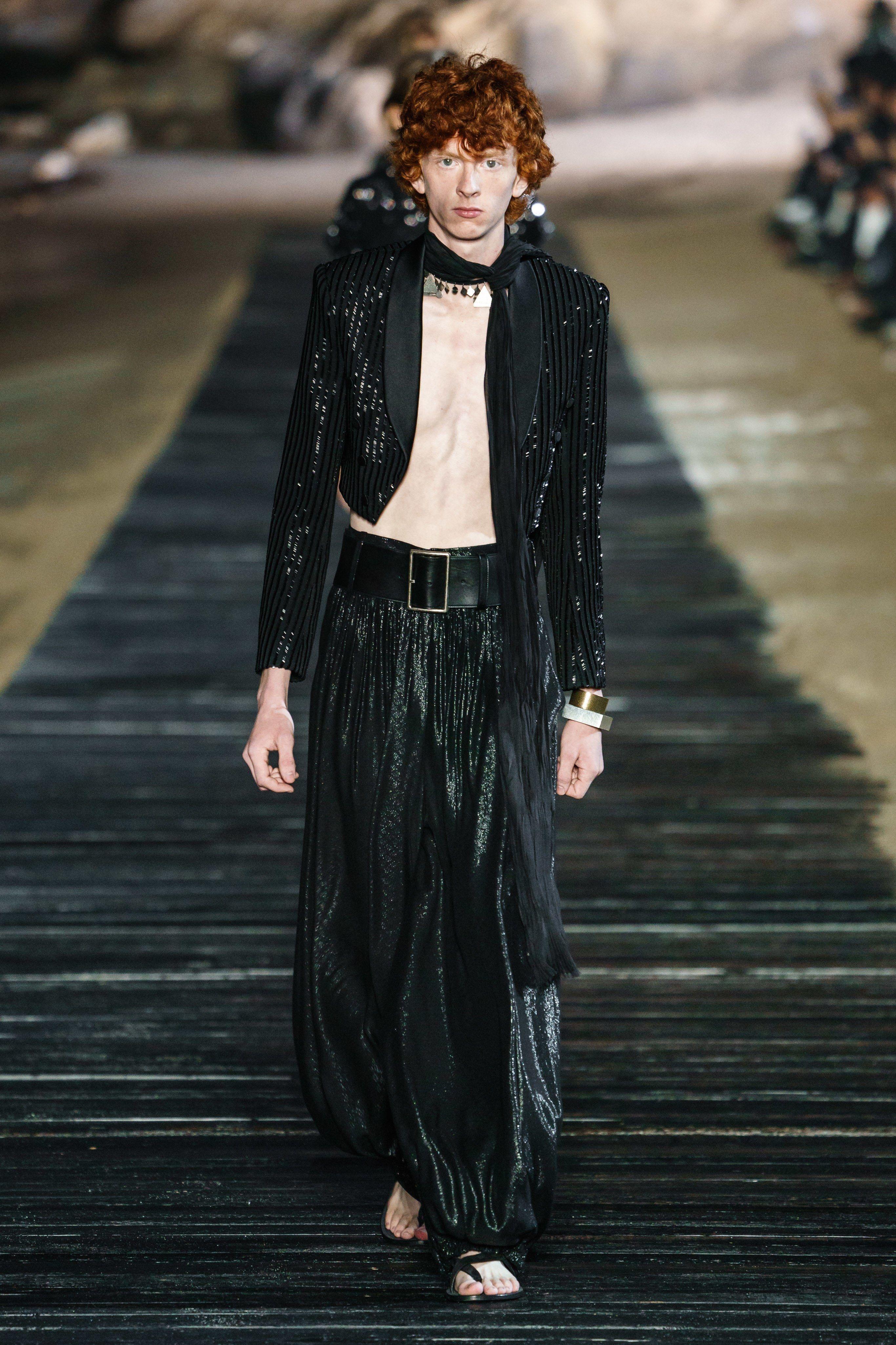 Saint Laurent Spring 2020 Menswear Fashion Show in 2020
