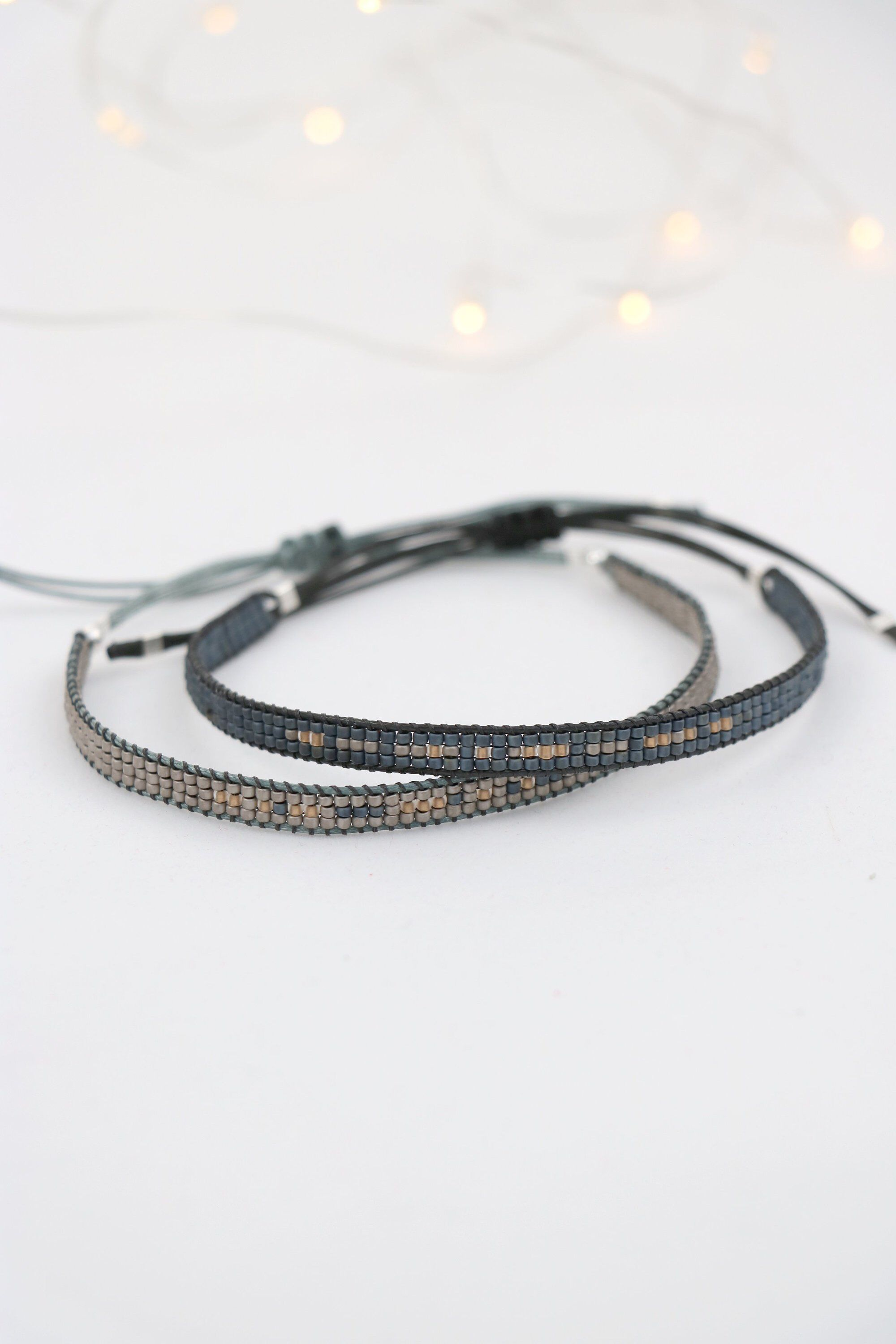 Couples bracelet anniversary gift for him and her matching