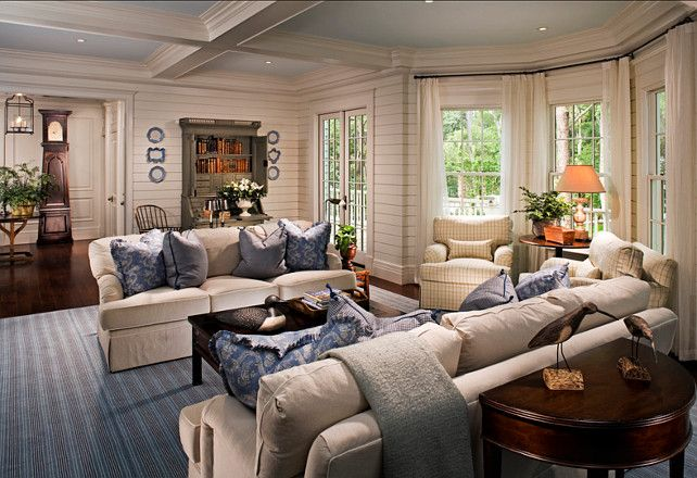 Photo of Family Home with Classic Coastal Interiors