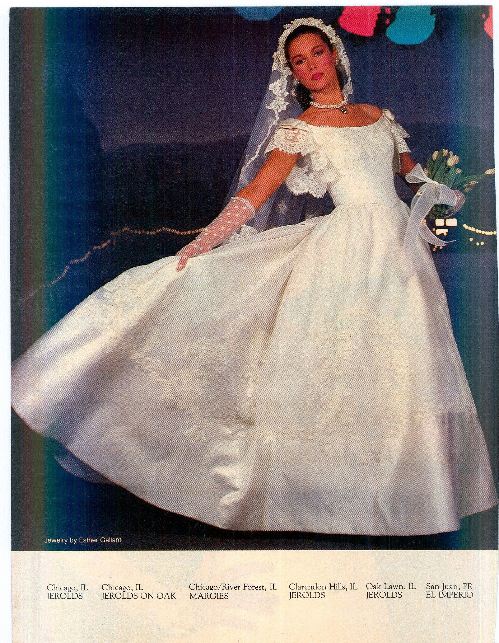 Reflections/Eve of Milady 1983 | 1980s Wedding Gowns | Pinterest ...