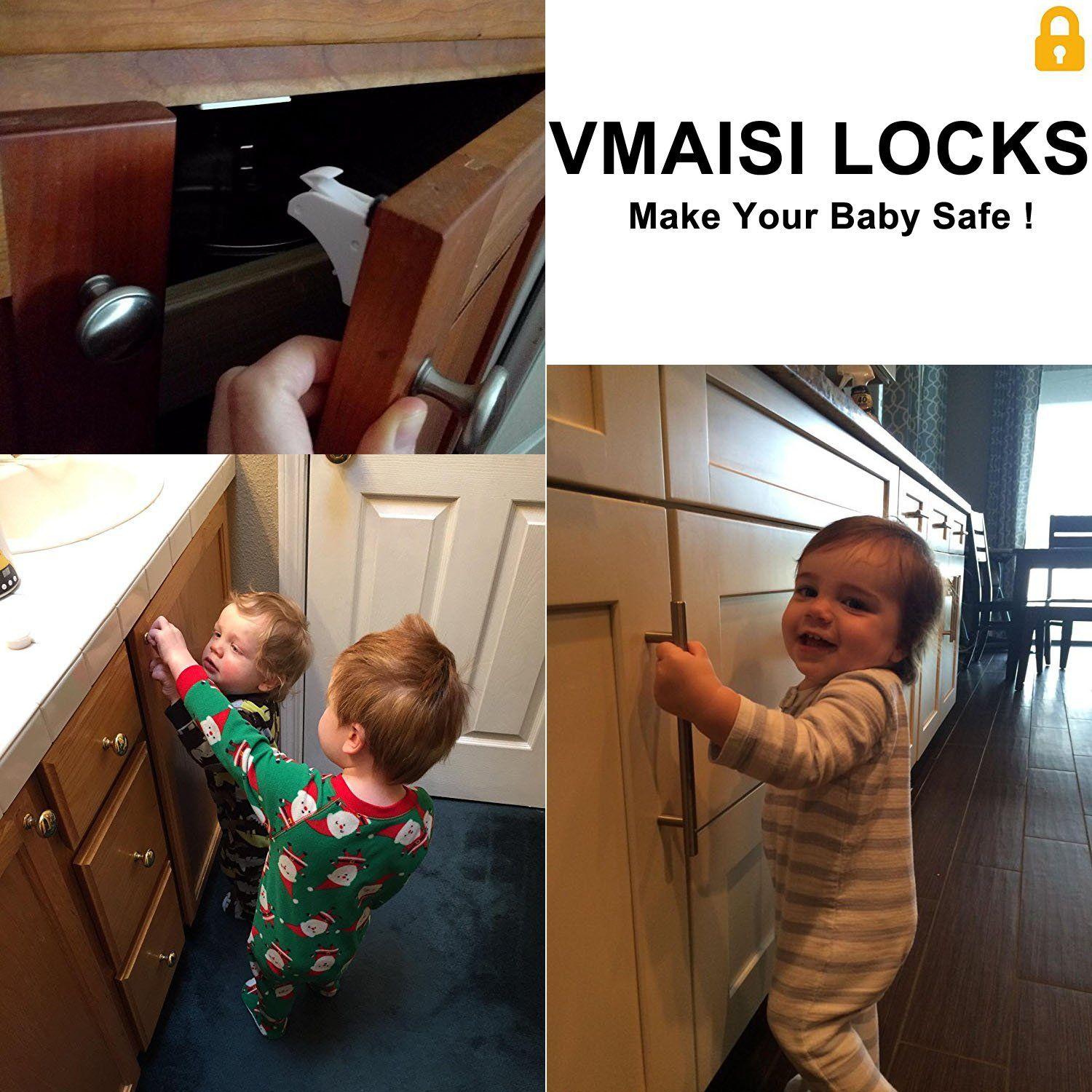Baby Proofing Locks Child Safety VMAISI