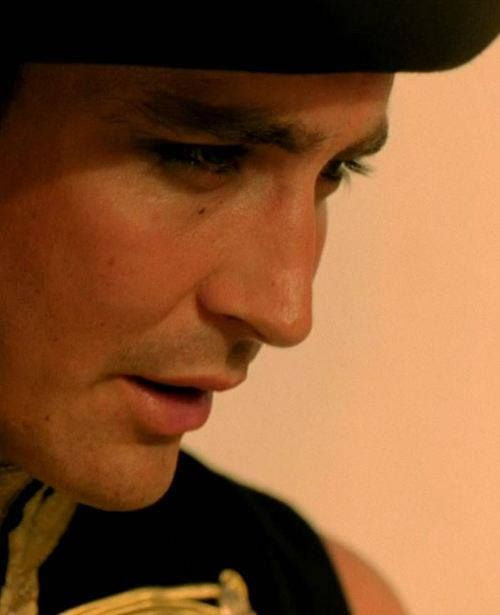 Lee Pace with eyeliner #Bandit in The Fall